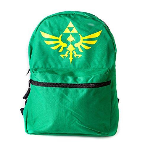 Zelda Fedbp0vfuzss Wing Crest Logo réversible Sac à dos, Noir/vert