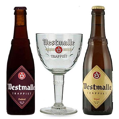 Kit Cervejas Westmalle com Taça
