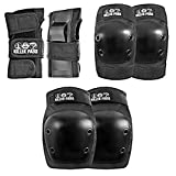 187 Killer Pads Unisex Six Pack SPJA100, Black, JR