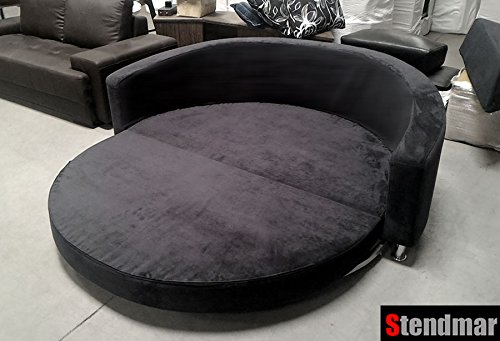 Magnificent Round Sofa Bed Amazoncom Modern Round Sleeper Bed Sofa Machost Co Dining Chair Design Ideas Machostcouk