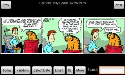 Amazon Com Garfield Daily Appstore For Android