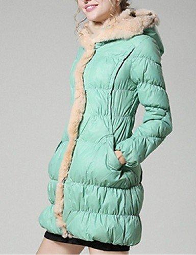 GGX/ Damenschuhe mit flachem Absatz spitze Zehe / offene Spitze Fersen Partei&Abend / Kleid / casual grün / pink / rot / silber / gold pink-us2.5 / eu32 / uk1 / cn31