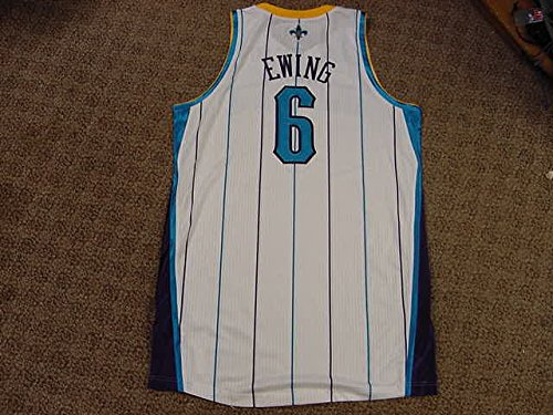 - Pat Ewing New Orleans Hornets 2011-2012 Home Game Worn Jersey
