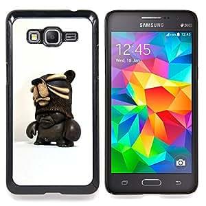 For Samsung Galaxy Grand Prime SM-G530F G530FZ G530Y G530H G530FZ/DS , 3D figuras de chocolate oscuro Hombre - Diseño Patrón Teléfono Caso Cubierta Case Bumper Duro Protección Case Cover Funda