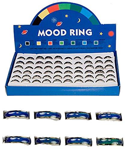 Noveltees 12 Pieces Bulk LOT of Change Color Mood Band -