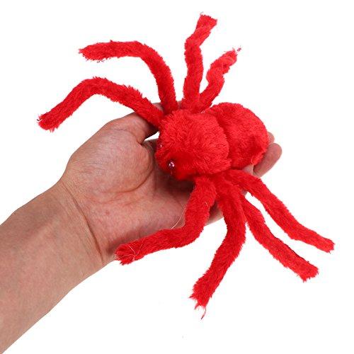 BESTOYARD Jouet d'araignée d'araignée d'araignée de Halloween en Peluche pour Party Trick Décorations Accessoires 30cm | Une Bonne Conservation De La Chaleur  d9a64d