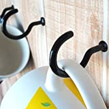 "2-7/8"" Cup Hook Ceiling Hooks(Pack of 30), Vinyl"