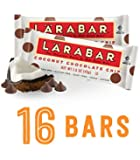 Larabar Gluten Free Snack Bars, Coconut Chocolate Chip, 1.6 Ounce Bars (16 Count)