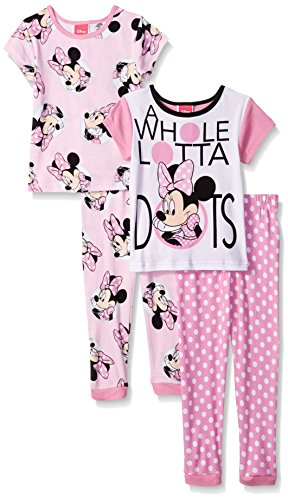Disney Minnie 4 Piece Cotton Pajama