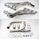 #10: Long Tube Stainless Steel Headers w/Y Pipe Fits Chevy GMC 14-17 5.3L 6.2L