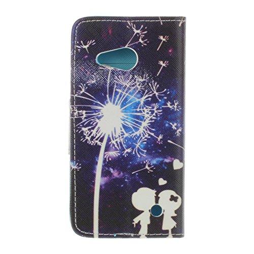 Ecoway Serie pintada Caja del teléfono de moda para Microsoft Lumia 550 Nokia N550 - Couple Couple