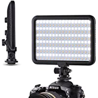 Tycka Camera 204 Led Lighting Panel, Video Photo Studio Light, 1300lm Stepless Dimmable Brightness, 3200K - 5600K White and Yellow light, no ghosting, ultrabright and ultrathin, for DSLR DV Camcorder