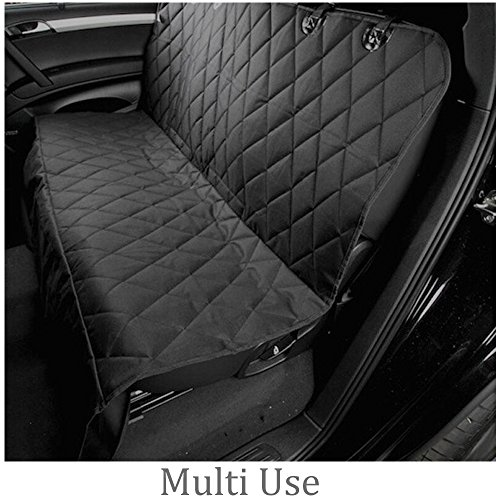 gkgk dog seat cover for car waterproof non slip scratch proof spill proof stain proof backing. Black Bedroom Furniture Sets. Home Design Ideas