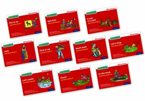 Read Write Inc. Phonics: Red Ditty Books Mixed Pack of 10 (Pack Ditty)