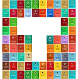 Custom Variety Tea Bags - Stash Tea Sampler Assortment Variety 38 Pack Tea Bags