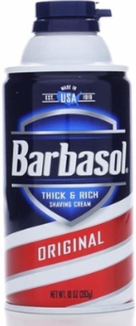 Barbasol Beard Buster Shaving Cream Original 10 oz (Pack of 5)