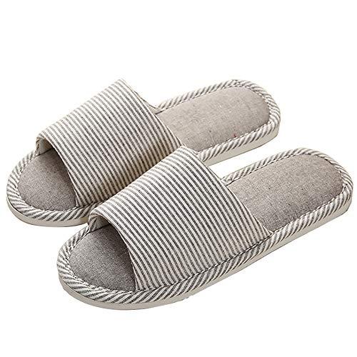 Mousse Mémoire Bout À Coton 40 Confortable Intérieur Pour Chaussures Lin Ouvert Bande Femmes Brown Pantoufles Etygyh brown De Résistant L'usure Accueil qwxPz7W4t