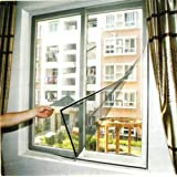 Flyscreen Queen Magnetic Window Kit 100 x 120cm