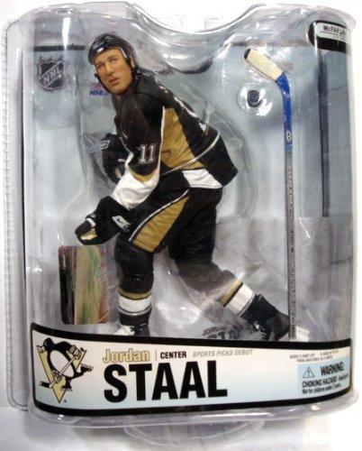- McFarlane NHL Series 18: Jordan Staal in Black Jersey - Pittsburgh Penguins
