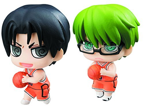 Megahouse Kuroko's Basketball: Petit Chara Midorima & Takao Re-Paint Versions Set by Megahouse