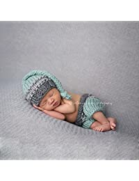 Botetrade Newborn Baby Girls Boys Crochet Knit Costume Photo Photography Prop Outfits