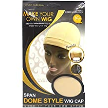 Qfitt Make Your Own Wig Span Dome Style Wig Cap #5037 Natural Color