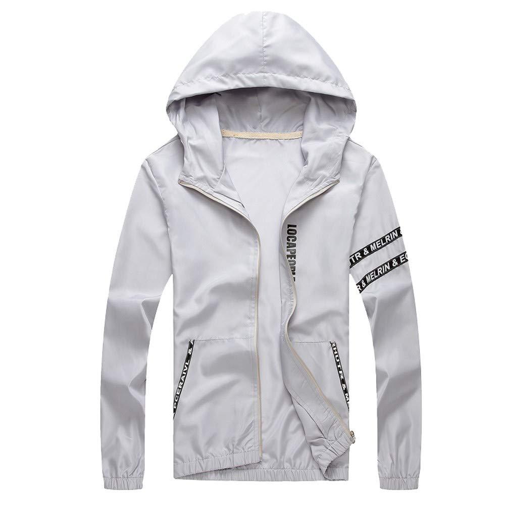 Men's Outwear for Mens Outdoor Sportswear Windbreaker Lightweight Bombers, Trench Coat Ennglun