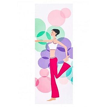 NFHNBABR Estera De Yoga Estera De Yoga Toalla Antideslizante ...
