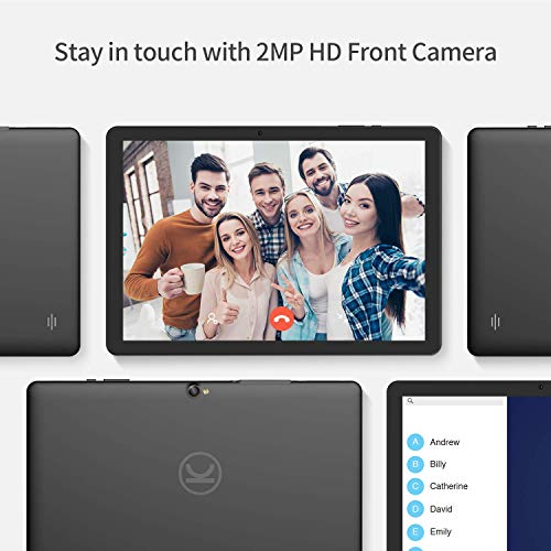 Vankyo MatrixPad Z4 10 inch Tablet, Android 9.0 Pie, 2 GB RAM, 32 GB Storage, 8MP Rear Camera, Quad-Core Processor, 10.1 inch IPS HD Display, Wi-Fi, Black
