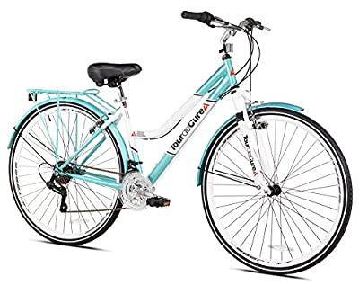 "Tour de Cure Women's 700 C Hybrid Bike, Blue, 17.25""/One Size"