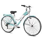 "Tour de Cure 62721 Women's Hybrid Bike, 700c, Blue, 17.25""/One Size"
