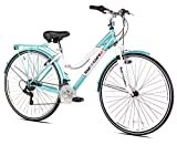 "Tour de Cure 62721 Women's Hybrid Bike, 700c, Blue, 17.25""/One Size"