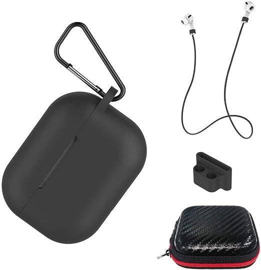Aicek Hülle Kompatibel Mit Airpods Pro Silikon Elektronik