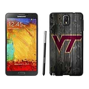 Beautiful Designed Case With NCAA Atlantic Coast Conference ACC Footballl Virginia Tech Hokies 7 Black For Samsung Galaxy Note 3 N900A N900V N900P N900T Phone Case