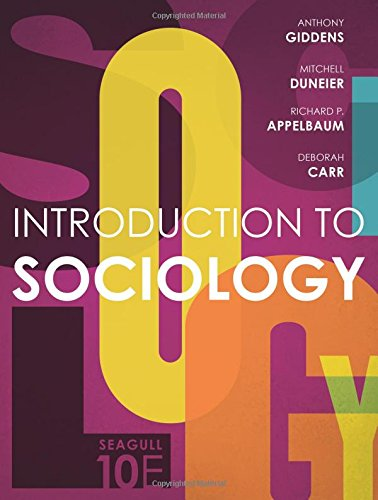 Introduction to Sociology (Seagull Tenth Edition) cover