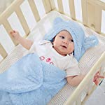 XMWEALTHY-Cute-Baby-Items-Newborn-Plush-Nersury-Swaddle-Blankets-Soft-Infant-Girls-Clothes-Light-Blue