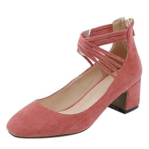 Red MissSaSa Scarpe Vintage Coral Donna qBxqXOzI