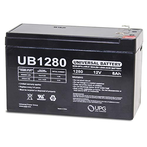 Universal Power Group 12V 8Ah SLA Battery Replacement for GE Concord 4 Control ()