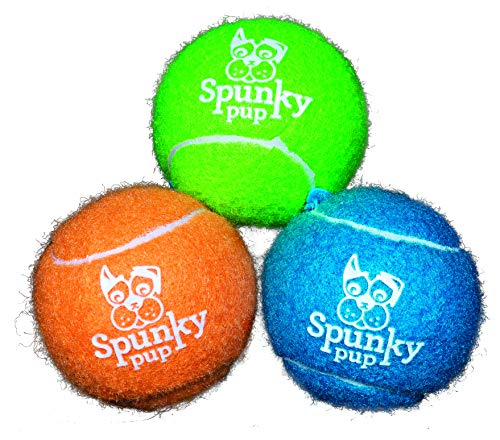 Tennis Balls with Glow Logo -