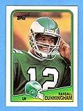 Randall Cunningham 1988 Topps Football (2nd Year Card) (Eagles)