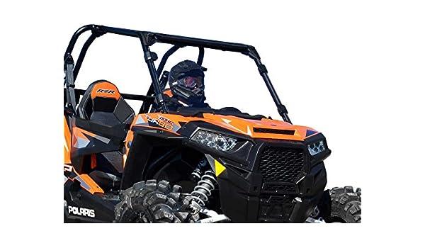 Polaris RZR 900 / 1000 Full Windshield Clear standard by Super ATV: Amazon.es: Coche y moto