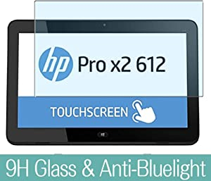 "Synvy Anti Blue Light Tempered Glass Screen Protector for HP Pro x2 612 G1 12.5"" Visible Area 9H Protective Screen Film Protectors"