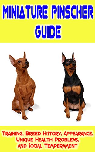 Miniature Pinscher Training Guide: Training, Breed History, Appearance, Unique Health Problems, and Social Temperament