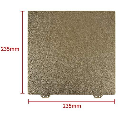 CUHAWUDBA Impresora 3D Cama Caliente Oro Doble Capa Textura Pei ...