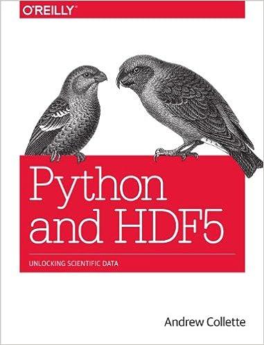 Python and HDF5: Unlocking Scientific Data 1, Andrew