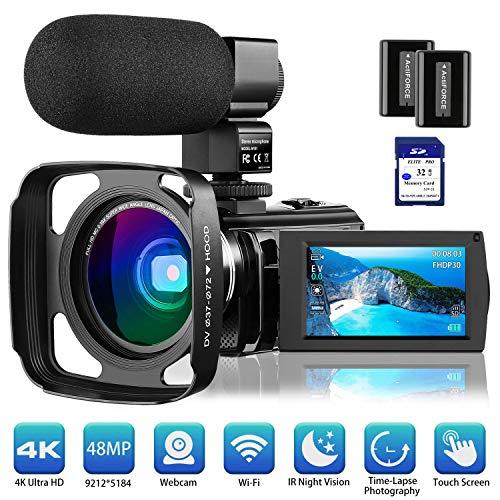 4K Camcorder Video Camera