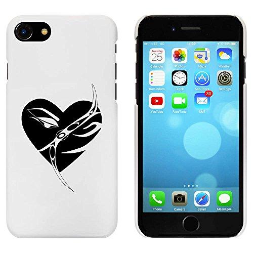 Blanc 'Cœur' étui / housse pour iPhone 7 (MC00060810)