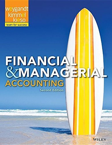 Financial & Managerial Accounting by Jerry J. Weygandt (2015-02-06)