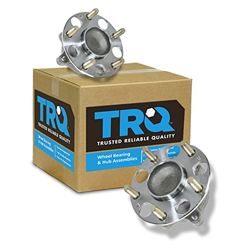 TRQ Rear Wheel Hub & Bearing Pair Set for Acura TSX Honda Accord ()
