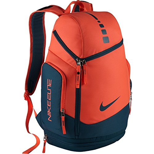 35efe4cee5ae Nike Hoops Elite Max Air Team Basketball Backpack Bag Bright Mango   Rift  Blue - Buy Online in KSA. nike products in Saudi Arabia. See Prices